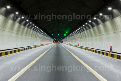 LED Tunnel light projects in Ximen xianyue tunnel